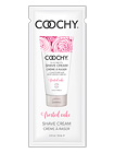 Coochy Shave Cream Frosted Cake 15ml Foil Packet