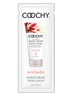Coochy Shave Cream Sweet Nectar 15ml Foil Packet